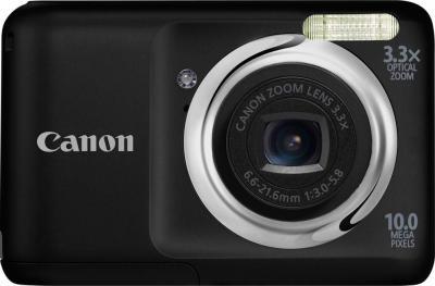 Компактный фотоаппарат Canon PowerShot A800 BLACK - общий вид