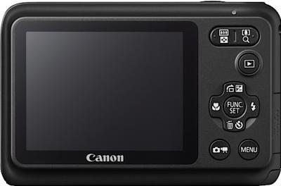Компактный фотоаппарат Canon PowerShot A800 BLACK - вид сзади