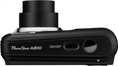 Компактный фотоаппарат Canon PowerShot A800 BLACK - вид сверху