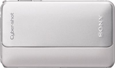 Компактный фотоаппарат Sony Cyber-shot DSC-TX10 Silver - Общий вид