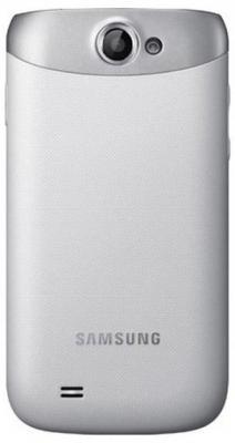 Смартфон Samsung I8150 Galaxy W White (GT-I8150 EWASER) - вид сзади