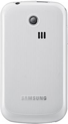 Мобильный телефон Samsung S3350 White - вид сзади