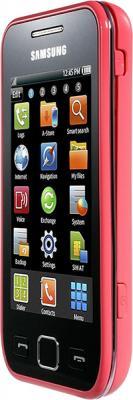 Смартфон Samsung S5250 Wave 525 Pink (GT-S5250 TIASER) - вид сбоку