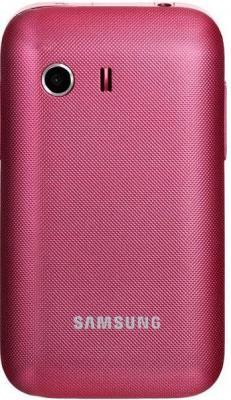 Смартфон Samsung S5360 Galaxy Y Pink (GT-S5360 OIASER) - вид сзади