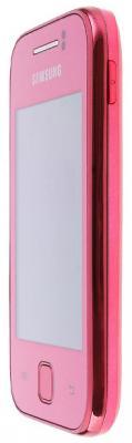Смартфон Samsung S5360 Galaxy Y Pink (GT-S5360 OIASER) - вид сбоку