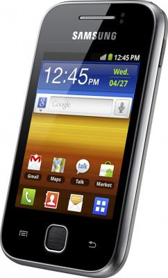 Смартфон Samsung S5360 Galaxy Y Black (GT-S5360 TKASER) - общий вид
