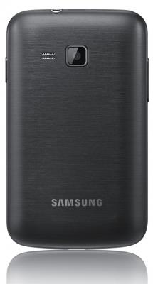 Смартфон Samsung B5510 Galaxy Y Pro Gray (GT-B5510 CAASER) - вид сзади