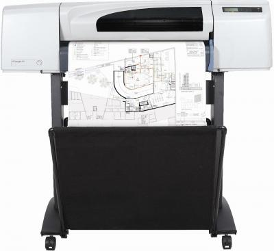 Плоттер HP  Designjet 510 (CH336A) - общий вид