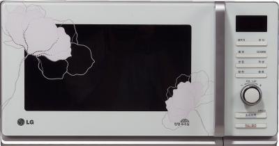 Микроволновка LG MF6588PRFW - общий вид