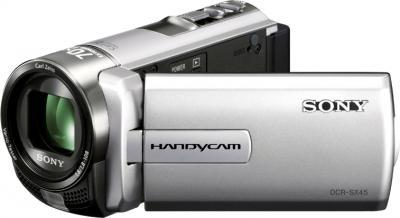 Видеокамера Sony DCR-SX45E Silver - общий вид