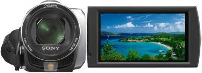 Видеокамера Sony DCR-SX45E Silver - дисплей