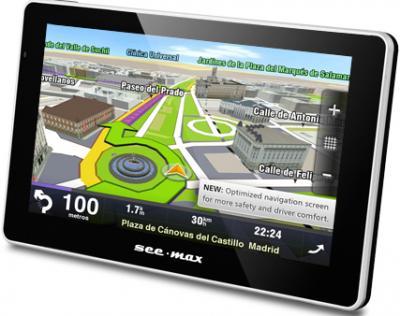 GPS навигатор SeeMax navi E510 8Gb