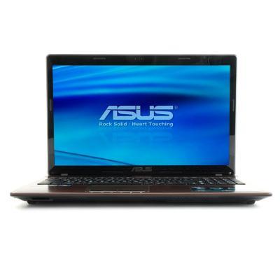 Ноутбук Asus K53SC-SX310D - спереди