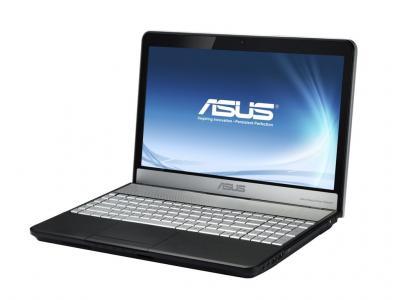 Ноутбук Asus N73SV-V2G-TZ608D - чуть повернут влево