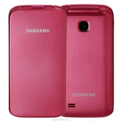 Мобильный телефон Samsung C3520 Pink (GT-C3520 OIASER) - общий вид