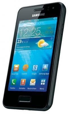 Смартфон Samsung S7250 Wave M Dark Silver (GT-S7250 MSDSER) - вид сбоку