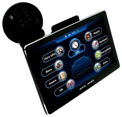 GPS навигатор SeeMax navi E715 HD 8GB - вид спереди