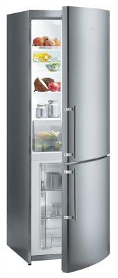 Холодильник с морозильником Gorenje NRK60325DE - общий вид