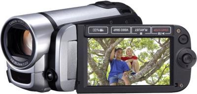Видеокамера Canon LEGRIA FS406 Silver  - дисплей