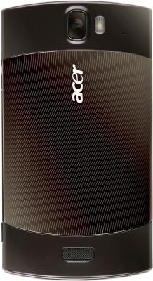 Смартфон Acer Liquid MT Brown - вид сзади