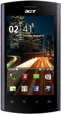 Смартфон Acer Liquid MT Brown - общий вид