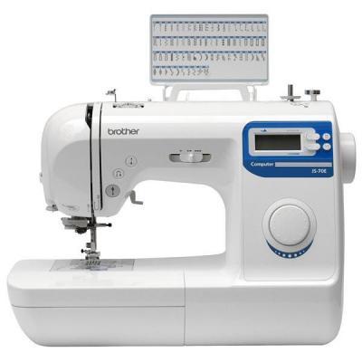 Швейная машина Brother JS-70E - вид спереди