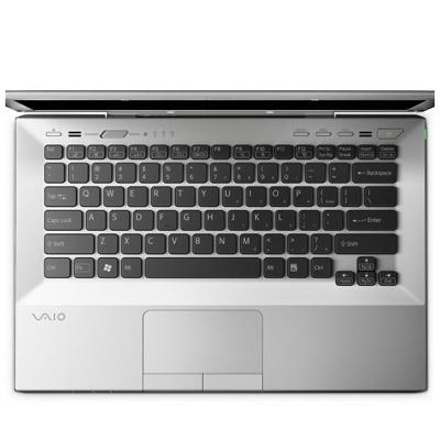 Ноутбук Sony VAIO VPCSB3V9R/S - сверху открытый