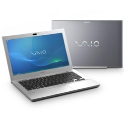 Ноутбук Sony VAIO VPCSB3V9R/S - спереди и сзади