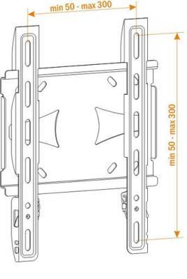 Кронштейн для телевизора Holder LCDS-5045 - схема