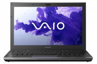 Ноутбук Sony VAIO VPCZ21V9R/X - спереди