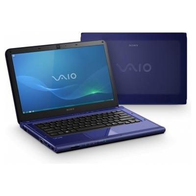 Ноутбук Sony VAIO VPCCA3S1R/L - спереди и сзади