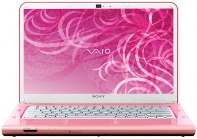 Ноутбук Sony VAIO VPCCA3S1R/P - фронтальный вид