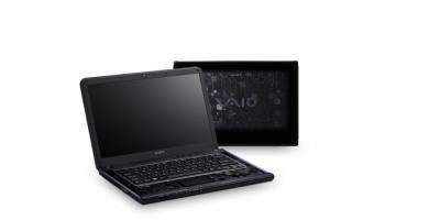 Ноутбук Sony VAIO VPCCA3X1R/BI - спереди и сзади