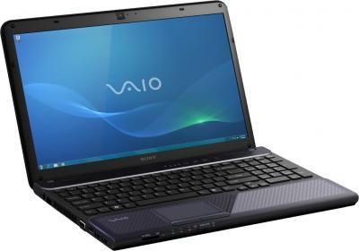 Ноутбук Sony VAIO VPCCB3S1R/B - спереди