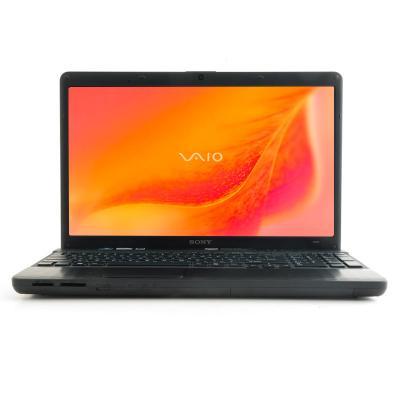 Ноутбук Sony VAIO VPCEH2L1R/B - спереди