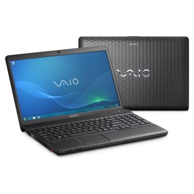 Ноутбук Sony VAIO VPCEH2S1R/B - Спереди