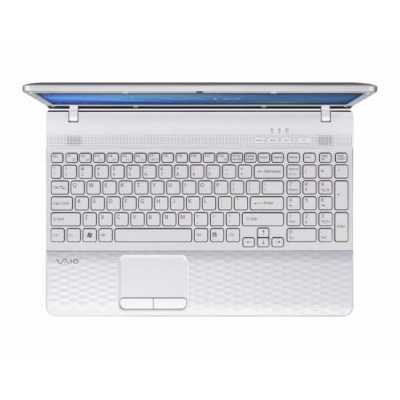 Ноутбук Sony VAIO VPCEL2S1R/W - открытый сверху