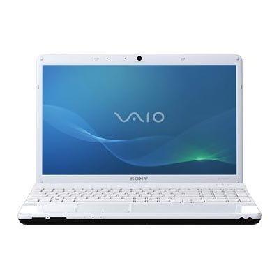 Ноутбук Sony VAIO VPCEL2S1R/W - спереди