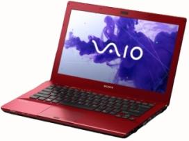 Ноутбук Sony VAIO VPCSB3M1R/R - открытый сбоку
