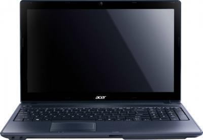 Ноутбук Acer Aspire 5742G-384G50Mnkk (LX.RB90C.070) - фронтальный вид