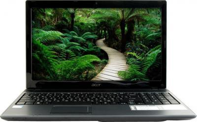 Ноутбук Acer 5733Z-P623G50Mikk (LX.RJW0C.038) - фронтальный вид