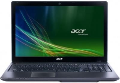 Ноутбук Acer Aspire 5750G-2314G50Mnkk (LX.RMU0C.070) - спереди открытый