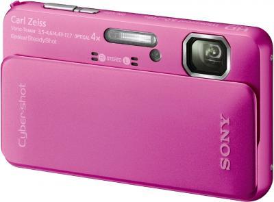 Компактный фотоаппарат Sony Cyber-shot DSC-TX10 Pink - Общий вид