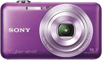 Компактный фотоаппарат Sony DSC-WX30 Violet - Вид спереди