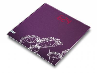 Напольные весы электронные Beurer GS 40 Magic Flora - вид сверху