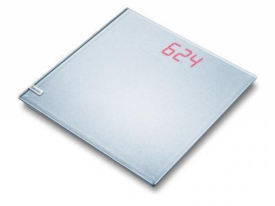 Напольные весы электронные Beurer GS 40 Magic Plain Silver - вид сверху