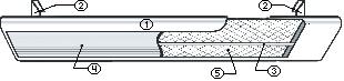 Инфракрасный обогреватель Иколайн ИКО 40+ - Cхематическое изображение