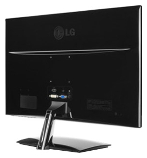 Монитор LG E2251T - задняя панель
