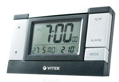 Метеостанция цифровая Vitek VT-3543 - вид спереди