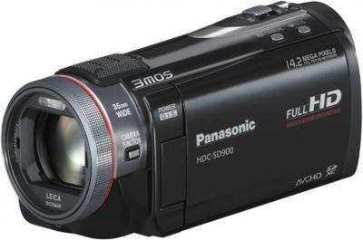 Видеокамера Panasonic HDC-SD900 - общий вид